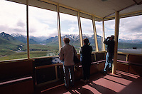 USA, Alaska, Eielson Visitor Center im Denali Nationalpark