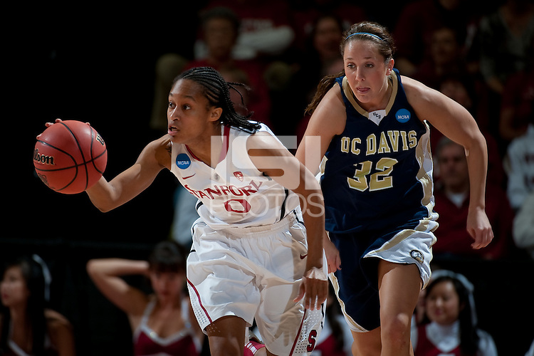 STANFORD, CA - MARCH 19, 2011: Melanie Murphy at Maples Pavilion, March 19, 2010 in Stanford, California.