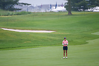 Azahara Munoz (ESP) looks over her third shot on 1 during round 4 of the KPMG Women's PGA Championship, Hazeltine National, Chaska, Minnesota, USA. 6/23/2019.<br /> Picture: Golffile | Ken Murray<br /> <br /> <br /> All photo usage must carry mandatory copyright credit (© Golffile | Ken Murray)