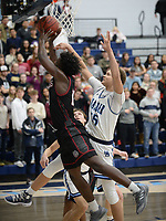 NWA Democrat-Gazette/ANDY SHUPE<br /> Springdale and Har-Ber Friday, Feb. 8, 2019, during  play in Wildcat Arena in Springdale. Visit nwadg.com/photos to see more photographs from the games.