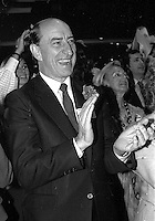 Marc Lalonde<br />  attend the Liberal Party of Canada  leadership debate, at the Queen Elizabeth Hotel,April 13, 1984