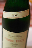 bihl neck label domaine pierre frick pfaffenheim alsace france