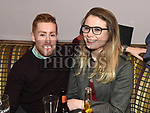 Martin Lennon and Rosie Dunhill at the Hunterstown Rovers social night in the Hunterstown Inn. Photo:Colin Bell/pressphotos.ie