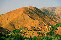 Along the route from Marrakech to Ouarzazate (thru the High Atlas), Morocco