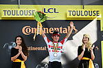 Caleb Ewan (AUS) Lotto-Soudal wins Stage 11 of the 2019 Tour de France running 167km from Albi to Toulouse, France. 17th July 2019.<br /> Picture: ASO/Alex Broadway | Cyclefile<br /> All photos usage must carry mandatory copyright credit (© Cyclefile | ASO/Alex Broadway)