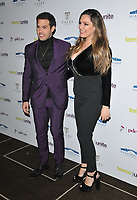 LONDON, ENGLAND - NOVEMBER 29: Jeremy Parisi and Kelly Brook at the Teens Unite: Tales Untold charity gala, Rosewood London, High Holborn on Friday 29 November 2019 in London, England, UK. <br /> CAP/CAN<br /> ©CAN/Capital Pictures