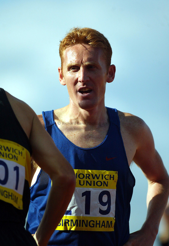 Photograph: Scott Heavey..Norwich Union World Trials & AAA Championships from The Alexander Stadium in Birmingham. 27/07/2003..John Mayock