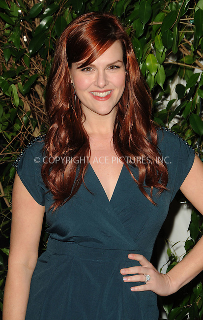 WWW.ACEPIXS.COM . . . . . ....February 25 2011, Los Angeles....Actress Sara Rue arriving at the QVC Red Carpet Style Party at the Four Seasons Hotel at Beverly Hills on February 25, 2011 in Los Angeles, CA....Please byline: PETER WEST - ACEPIXS.COM....Ace Pictures, Inc:  ..(212) 243-8787 or (646) 679 0430..e-mail: picturedesk@acepixs.com..web: http://www.acepixs.com