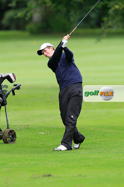 Marc Norton (Belvoir Park) on the 18th during Round 3 of the Irish Boys Amateur Open Championship at Thurles Golf Club on Thursday 26th June 2014.<br /> Picture:  Thos Caffrey / www.golffile.ie