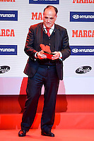 LFP President, Javier Tebas attends to the photocell of the Marca Awards 2015-2016 at Florida Park in Madrid. November 07, 2016. (ALTERPHOTOS/Borja B.Hojas) ///NORTEPHOTO.COM
