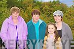 Attending the mass in Killaclohane Wood, Milltown on Sunday was l-r: Ann Joy Glenbeigh, Joan Allman Milltown, Claire Beasley and Martina Joy Glenbeigh.