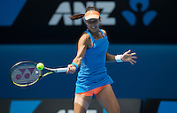 Serena Williams of the USA in action in the Australian Open 2014