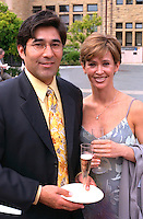 Attractive couple age 32 at my cousins wedding.  Palo Alto California USA