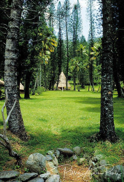 Sarraméa, tribu de petit couli