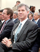 "Washington, DC - February 7, 2002 -- Andrew S. Fastow, former Chief Financial Officer; Enron Corporation awaits the hearing of the United States House of Representatives Energy and Commerce Subcommittee on Oversight and Investigations on ""The Financial Collapse of the Enron Corporation""..Credit: Ron Sachs / CNP"