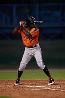 AZL Giants Orange Marco Luciano (10) at bat during an Arizona League game against the AZL Dodgers Mota on June 29, 2019 at Camelback Ranch in Glendale, Arizona. The AZL Giants Orange defeated the AZL Dodgers Mota 9-3. (Zachary Lucy/Four Seam Images)