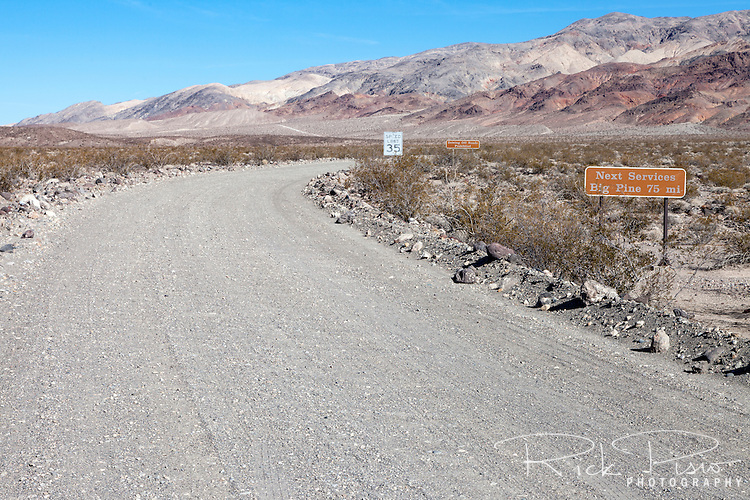 Death Valley Road in Death Valley National Park