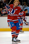 3 February 2007: Montreal Canadiens defenseman Janne Niinimaa (6) of Finland warms up prior to facing the New York Islanders at the Bell Centre in Montreal, Canada. The Islanders defeated the Canadiens 4-2.