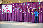Mar. 28, 2014; 2014 Relay for Life at the Compton Family Ice Arena. Photo by Barbara Johnston/University of Notre Dame