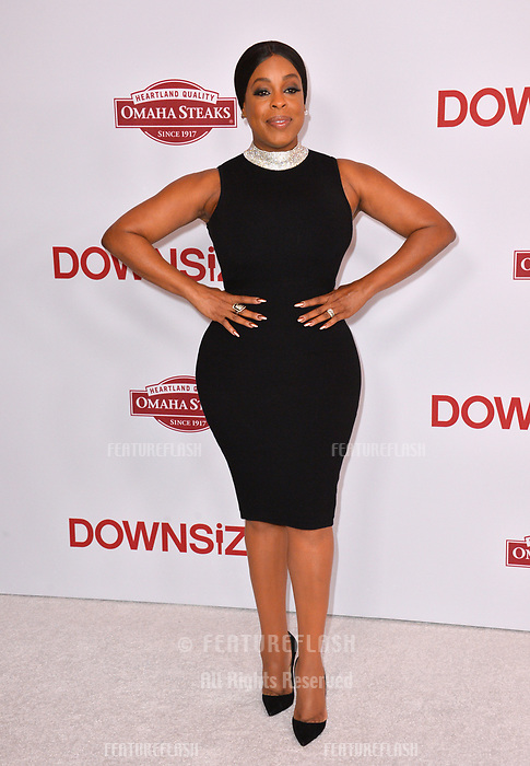 Niecy Nash at the special screening of &quot;Downsizing&quot; at the Regency Village Theatre, Westwood, USA 18 Dec. 2017<br /> Picture: Paul Smith/Featureflash/SilverHub 0208 004 5359 sales@silverhubmedia.com