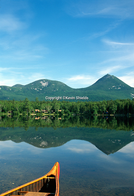 Kidney Pond Camp, Baxter State Park, Maine, USA