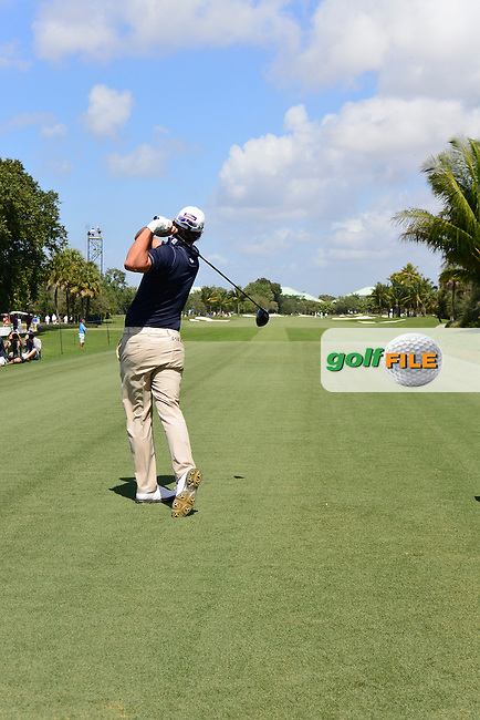 Brooks Koepka (USA) during the 1st round at the WGC Cadillac Championship, Blue Monster, Trump National Doral, Doral, Florida, USA<br /> Picture: Fran Caffrey / Golffile