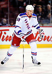 23 January 2010: New York Rangers' defenseman Marc Staal warms up prior to a game against the Montreal Canadiens at the Bell Centre in Montreal, Quebec, Canada. The Canadiens shut out the Rangers 6-0. Mandatory Credit: Ed Wolfstein Photo