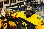 06.01.2020, BLZ Arena, Füssen / Fuessen, GER, IIHF Ice Hockey U18 Women's World Championship DIV I Group A, <br /> Deutschland (GER) vs Ungarn (HUN), <br /> im Bild Sofie Disl (GER, #20) freut sich mit ihren Teamkolleginnen <br /> <br /> Foto © nordphoto / Hafner