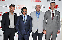 Theo James, Michael Pena, John Michael McDonagh and Alexander Skarsgard at the &quot;War On Everyone&quot; UK film premiere, Picturehouse Central, Corner of Shaftesbury Avenue and Great Windmill Street, London, England, UK, on Thursday 29 September 2016.<br /> CAP/CAN<br /> &copy;CAN/Capital Pictures /MediaPunch ***NORTH AND SOUTH AMERICAS ONLY***