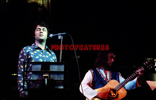 Ian Gillan and Roger Glover 1975 (Deep Purple) at Butterfly Ball at Royal Albert Hall