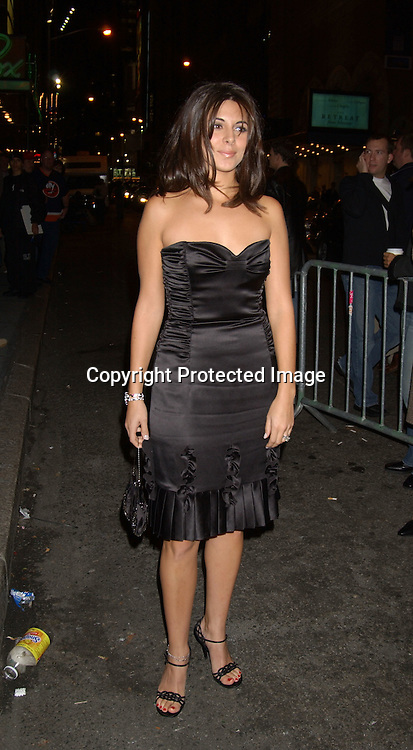 "..Jamie-Lynn Discala ..at the Broadway opening of "" The Boy From Oz""  on October 16,2003 in New York City at the Imperial theatre...Photo By Robin Platzer, Twin Images"