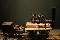 "Model:  ""Puffing Billy"". York Railway Museum."