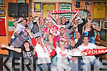 POLSKA PARTY: The member's of the Tralee Polish community having a great time at the Huddle bar, Tralee on Saturday...