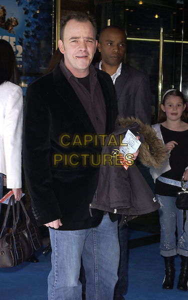 """TODD CARTY.At the UK Film Premiere of """"Ice Age 2: The Meltdown"""",.Empire Cinema, Leicester Square, London, .England, April 2nd 2006..half length.Ref: CAN.www.capitalpictures.com.sales@capitalpictures.com.©Can Nguyen/Capital Pictures"""