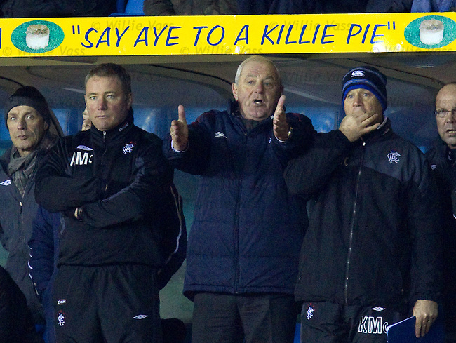 Ally McCoist, Walter Smith and Kenny McDowall hungry for league success as Rangers win at Kilmarnock