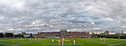 A sellout crowd of 4,063 fans at Arlotta Stadium watch the Notre Dame Men's Lacrosse team take on Syracuse, May 1. 2010...Photo by Matt Cashore/University of Notre Dame..