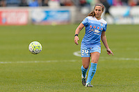 Bridgeview, IL, USA - Sunday, May 1, 2016: Chicago Red Stars midfielder Danielle Colaprico (24) during a regular season National Women's Soccer League match between the Chicago Red Stars and the Orlando Pride at Toyota Park. Chicago won 1-0.
