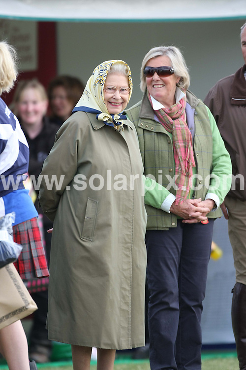 **ALL ROUND PICTURES FROM SOLARPIX.COM**                                             **WORLDWIDE SYNDICATION RIGHTS**                                                                                  Caption: HRH Queen Elizabeth II at the first day of the Royal Windsor Horse Show, Windsor, UK. 11 May 2011                                                                              This pic: The Queen Elizabeth II                                                                                              JOB REF:  13320 EBR       DATE: 11_05_2011                                                            **MUST CREDIT SOLARPIX.COM OR DOUBLE FEE WILL BE CHARGED**                                                                      **MUST AGREE FEE BEFORE ONLINE USAGE**                               **CALL US ON: +34 952 811 768 or LOW RATE FROM UK 0844 617 7637**