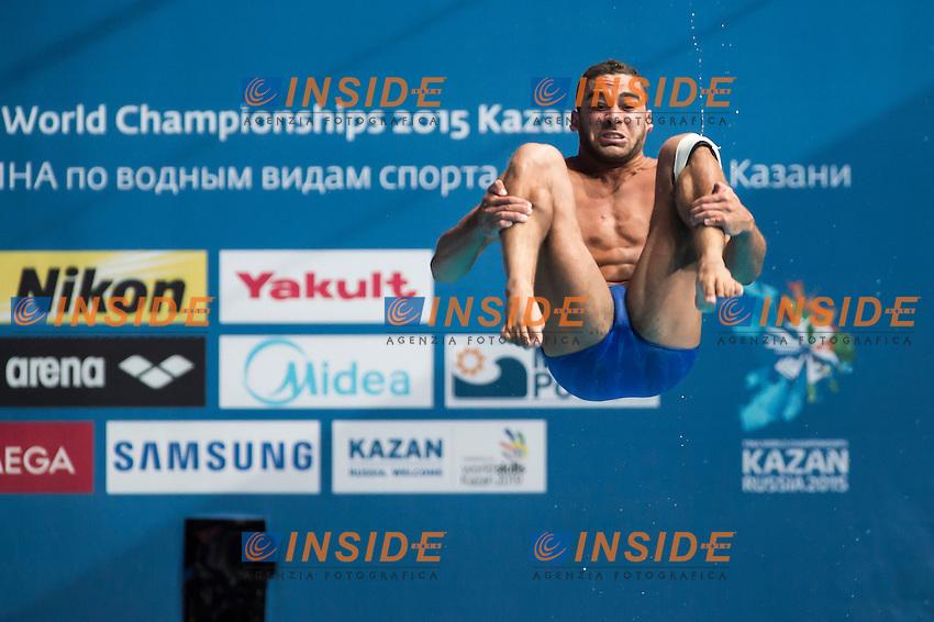 ABDELLATIF Emadeldin Sherin Fawzy EG<br /> Diving - Men's 1m springboard preliminaries<br /> Day 01 24/07/2015<br /> XVI FINA World Championships Aquatics Swimming<br /> Kazan Tatarstan RUS July 24 - Aug. 9 2015 <br /> Photo Giorgio Perottino/Deepbluemedia/Insidefoto