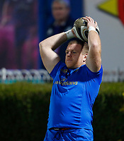 p28th February 2020; RDS Arena, Dublin, Leinster, Ireland; Guinness Pro 14 Rugby, Leinster versus Glasgow; Sean Cronin of Leinster warms up prior to kickoff
