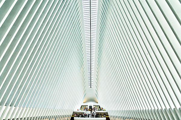 Oculus by Santiago Calatrava.