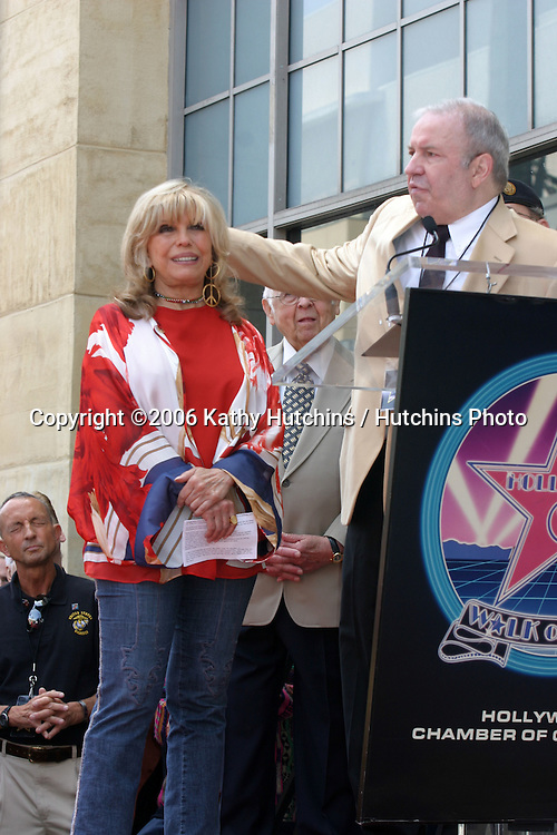 Nancy Sinatra & Brother Frank Sinatra Jr.Nancy Sinatra receives a star on the Hollywood Walk of Fame.Los Angeles, CA.May 11, 2006.©2006 Kathy Hutchins / Hutchins Photo....