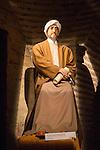 Model of Moorish man, Maimonides period, Torre de la Calahorra museum, Cordoba, Spain