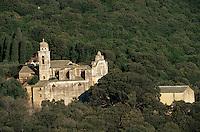 Europe/France/Corse/2B/Haute-Corse/Cap Corse/Env. de Poggio: L'église
