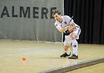 Almere - Zaalhockey  Amsterdam-Den Bosch (m)  Fergus Kavanagh (Adam)   . TopsportCentrum Almere.    COPYRIGHT KOEN SUYK