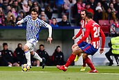 2nd December 2017, Wanda Metropolitano, Madrid, Spain; La Liga football, Atletico Madrid versus Real Sociedad; Mikel Oyarzabal (18) of Real Sociedad