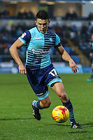 during the Sky Bet League 2 match between Wycombe Wanderers and Morecambe at Adams Park, High Wycombe, England on 12 November 2016. Photo by David Horn.
