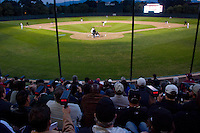 STANFORD, CA - FEBRUARY 20:  Scouts monitor the speed of the pitcher with a radar gun during Stanford's season opener game against the Vanderbilt Commodores on February 20, 2009 at Sunken Diamond in Stanford, California.