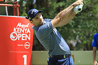 Oliver Wilson (ENG) in action during the first round of the Magical Kenya Open presented by ABSA played at Karen Country Club, Nairobi, Kenya. 14/03/2019<br /> Picture: Golffile | Phil Inglis<br /> <br /> <br /> All photo usage must carry mandatory copyright credit (&copy; Golffile | Phil Inglis)