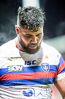 Picture by Allan McKenzie/SWpix.com - 09/02/2018 - Rugby League - Betfred Super League - Wakefield Trinity v Salford Red Devils - The Mobile Rocket Stadium, Wakefield, England - David Fifita.